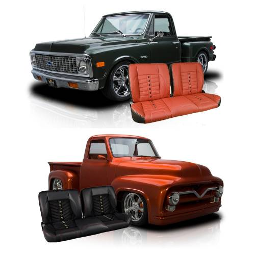 We Offer Both OEM Style Replacement Upholstery From PUI And TMI Productsu0027  Custom Line Of Truck Interiors. PUI Interiors Offers Factory Correct Style  And ...