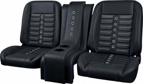 Black Sport XR Bucket Seats with Matching XR Console