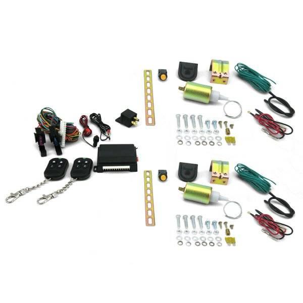 5 function 11 l remote shaved door popper kit. Black Bedroom Furniture Sets. Home Design Ideas