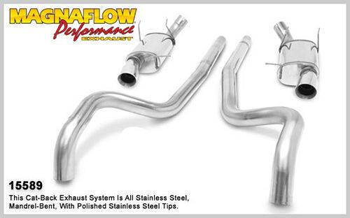 MagnaFlow Performance Exhaust Catback System for 2011 Mustang