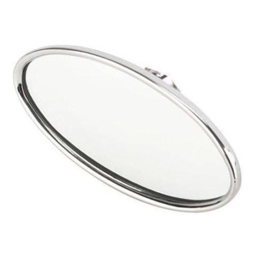 Hot Rod Rat Rod Street Rod Chrome Billet Aluminum Oval Rear View Mirror S-6613