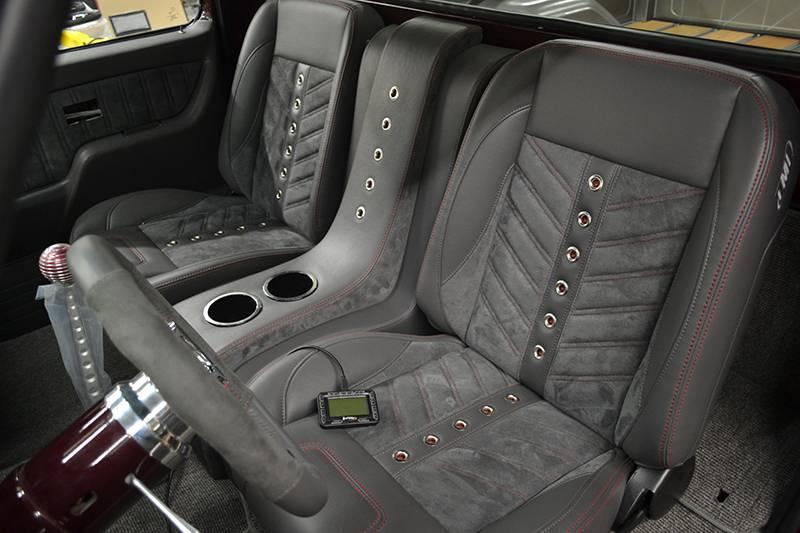 White Car Bench Seat