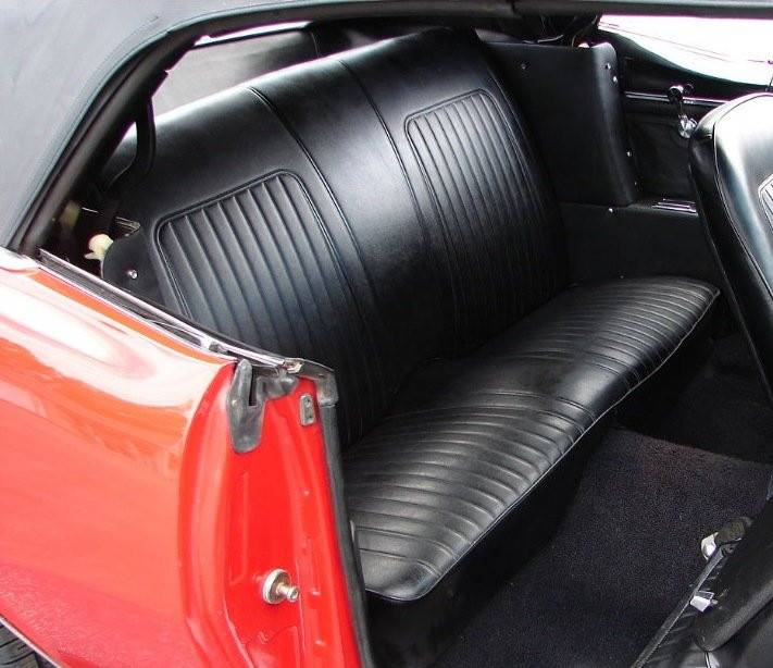 1967 1968 Camaro Coupe Convertible Rear Bench Seat