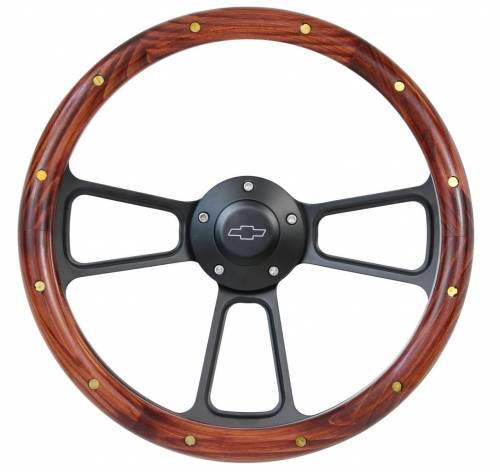 "14"" Wood Steering Wheels - Wood Steering Wheel Kits"