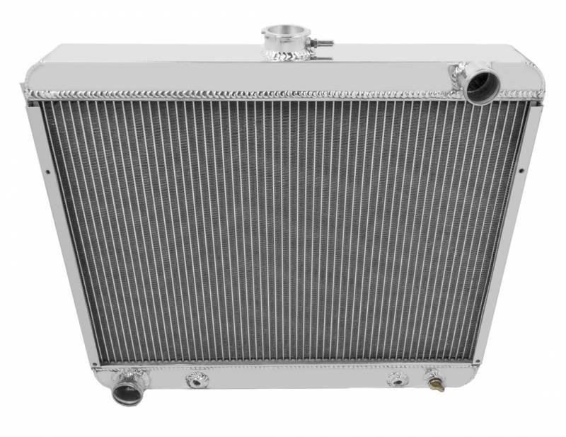 Four Row All Aluminum Radiator 22 Inch Core Mopar Big Block