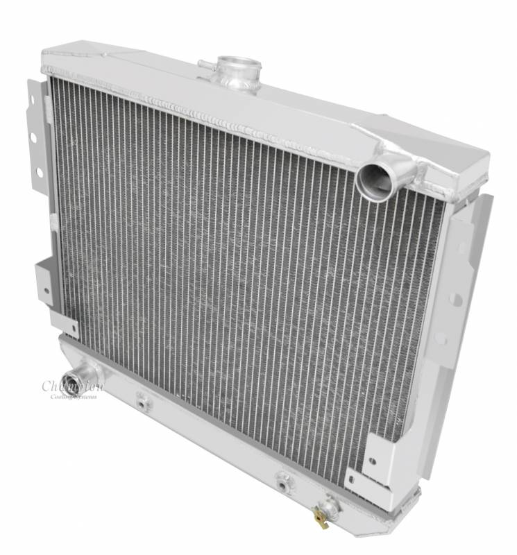 Champion 3 Row Aluminum Radiator For 1977 1978 Mustang Ii