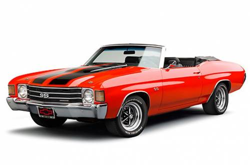 Gas Tanks - Chevelle/Malibu Gas Tanks