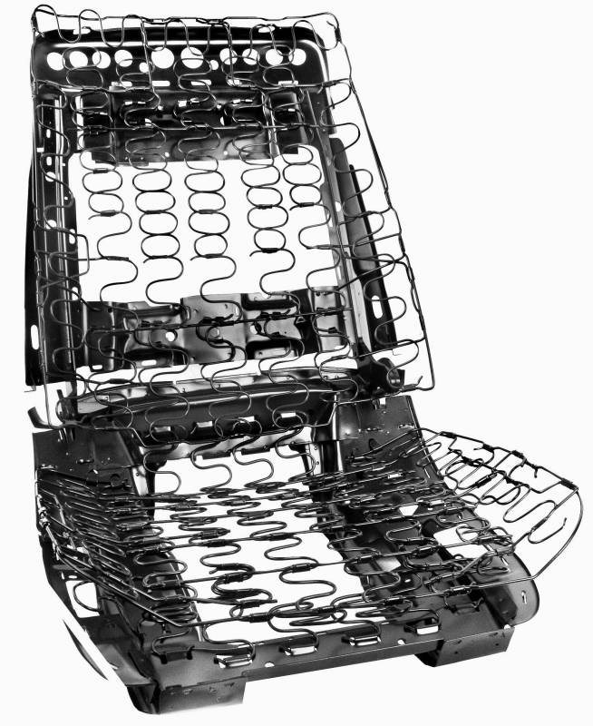 Seat Frame Assembly For 1969