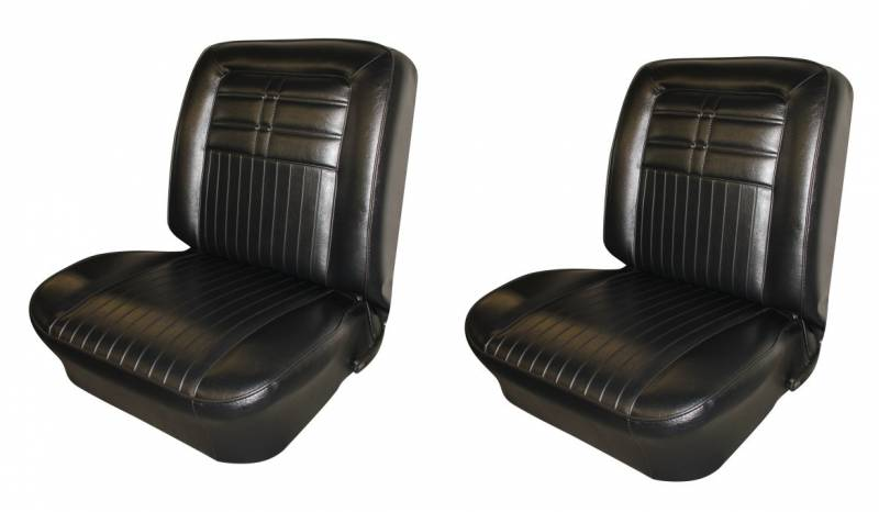 1963 Impala Front Bucket Amp Rear Bench Seat Upholstery For