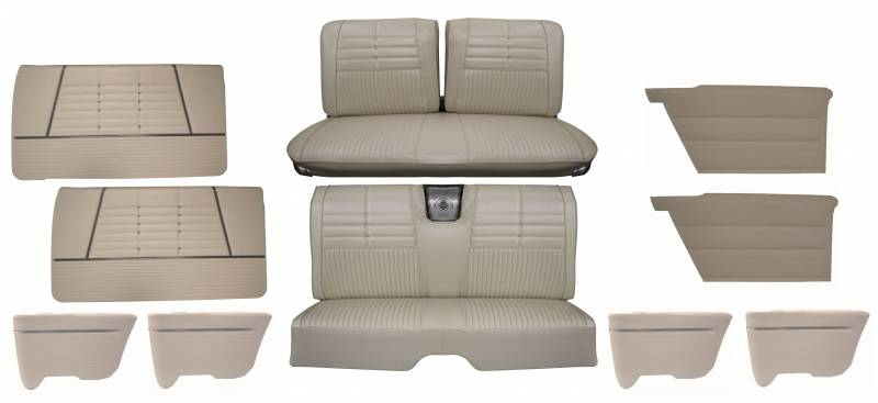 Remarkable 1964 Impala Standard Front Rear Bench Seat Upholstery Gmtry Best Dining Table And Chair Ideas Images Gmtryco