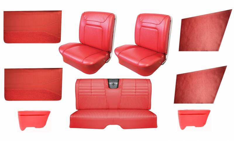 Super 1964 Impala Ss Front Bucket Rear Bench Seat Upholstery With Gmtry Best Dining Table And Chair Ideas Images Gmtryco