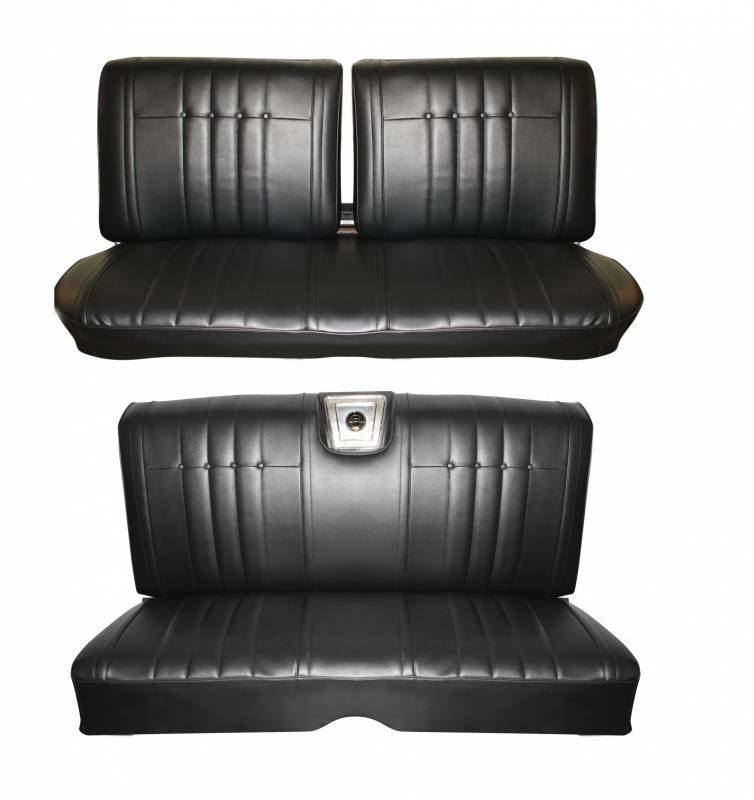 1965 Impala Standard Front Amp Rear Bench Seat Upholstery