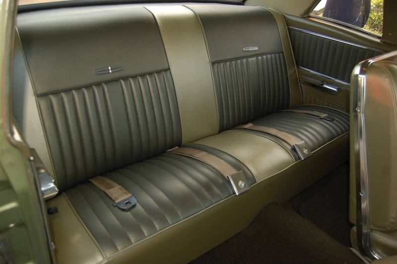 1966 67 Ford Falcon Seat Upholstery