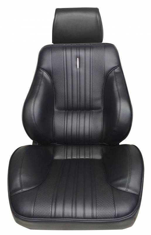 Acme U304-0702 Charcoal Vinyl Front Bucket and Rear Bench Seat Upholstery