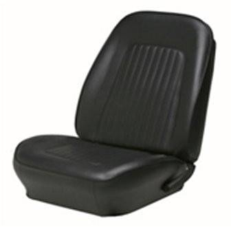 TMI Products - 1967 - 1968 Camaro Front Bucket and Rear Bench Seat Upholstery - Non-Folding Rear