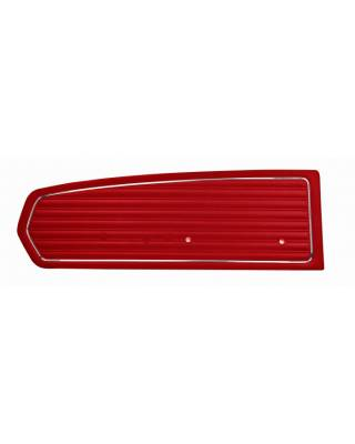 TMI Products - Standard Door Panels for 1968 Mustang Coupe, Convertible, 2+2 (Pair)