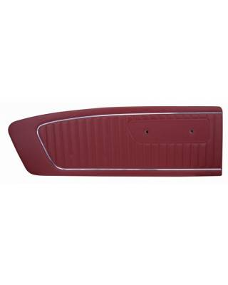 TMI Products - Standard Vinyl Door Panel (Pair) 1965 Mustang Coupe, Convertible, Fastback