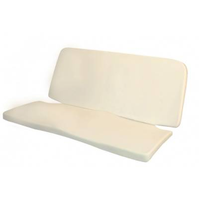 TMI Products - 1954-1979 Volkswagen Beetle Bug Molded Foam Seat Padding Kit (Rear Seat Bottom & Backrest)