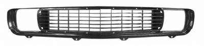 Dynacorn - Replacement Grill for 1969 Camaro RS - Black