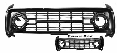 Dynacorn - Grille for 1966 - 1968 Ford Bronco - Painted