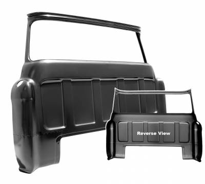 Dynacorn - 1955 -59 Chevy Pick Up Cab Big Window Outer Panel