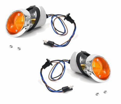 ACP - 1964 - 66 Mustang Parking Light Assembly Kit, for Right and Left Side