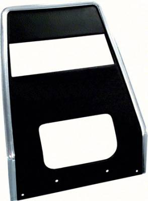 OER - 1967-68 Camaro / Firebird without AC Standard Center Dash Panel with Radio Delete