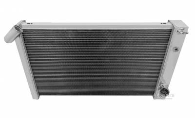 Champion Cooling Systems - Champion Cooling 3 Row Aluminum Radiator for 1969 - 1972 Corvette CC1215