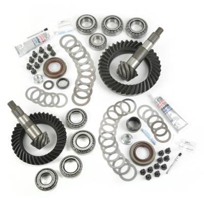 Alloy USA - Jeep Wrangler JK Ring & Pinion Kit, Dana 30 and 44 Rear Ends, 4.10 Gear Ratio