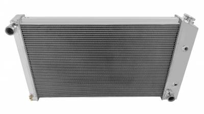 Champion Cooling Systems - Champion Cooling Four Row Aluminum Radiator for Firebird/Trans Am MC477