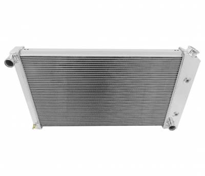Champion Cooling Systems - Champion Cooling Three Row Aluminum Radiator for Firebird/Trans Am CC573
