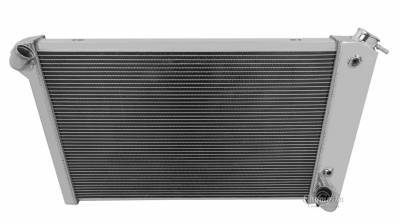 Champion Cooling Systems - Champion Two Row Aluminum Radiator for 1969- 1972 Corvette EC1655