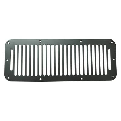 Rugged Ridge - Cowl Vent Cover, Black; 76-95 Jeep CJ/Wrangler YJ