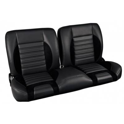 TMI Products - 1948-56 Ford Truck Sport R Pro-Classic - Complete Split Back Bench Seat - From TMI Made in the USA