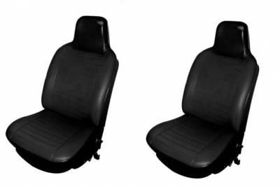 TMI Products - 1974-76 VW Volkswagen Bug Beetle Sedan Slip On Seat Upholstery, Front & Rear Seats