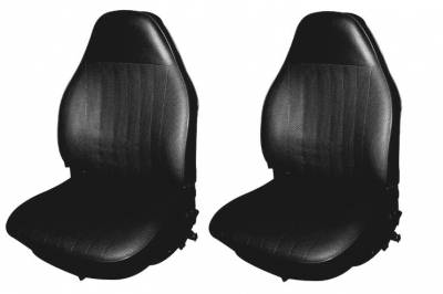 TMI Products - 1973 VW Volkswagen Bug Beetle Sedan Original Style Seat Upholstery, Front and Rear