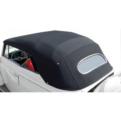 1965 - 67 Volkswagen Beetle Bug Convertible Top Cover - Haartz Supreme Pinpoint Vinyl