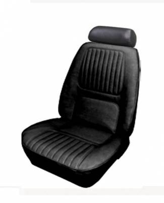 TMI Products - 1970 Camaro Deluxe Front Lowback Bucket Seat and Rear Bench Seat Upholstery