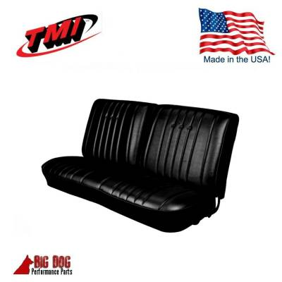 TMI Products - 1968 Chevelle Convertible Front and Rear Bench Seat Upholstery