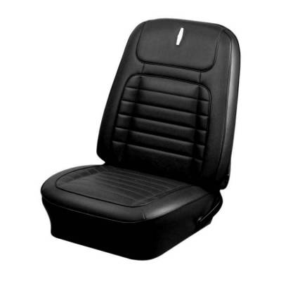 TMI Products - 1968 Camaro Deluxe Front Bucket and Rear Bench Seat Upholstery - Non-Folding Rear