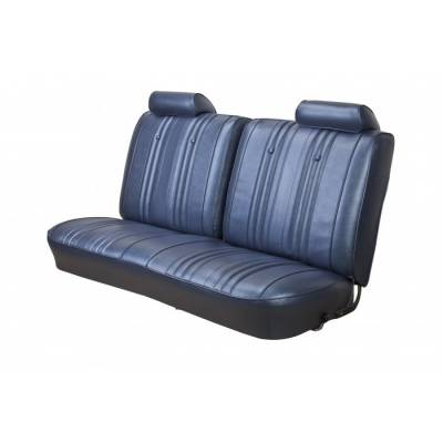 TMI Products - 1969 Chevelle Convertible Front and Rear Bench Seat Upholstery