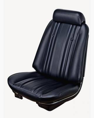 TMI Products - 1969 Chevelle Convertible Front Bucket and Rear Bench Seat Upholstery
