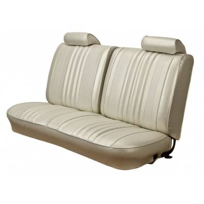 TMI Products - 1970 Chevelle Convertible Front and Rear Bench Seat Upholstery
