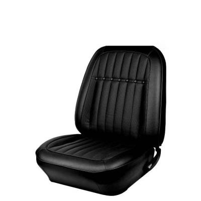 TMI Products - 1969 Camaro Deluxe Comfortweave Front Bucket and Rear Bench Seat Upholstery - Non-Folding Rear