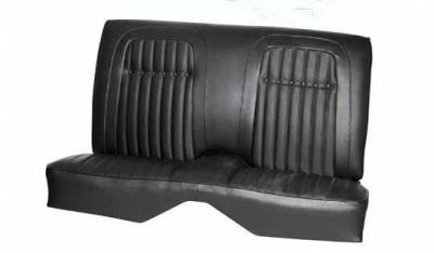 TMI Products - 1969 Camaro Deluxe Comfortweave Non-Folding Rear Seat Upholstery