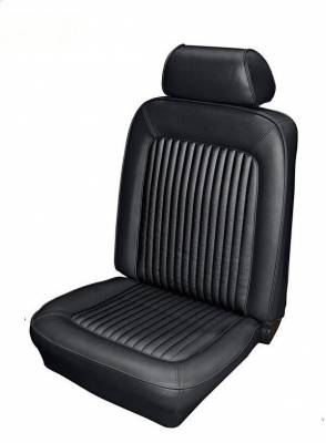 TMI Products - Standard Upholstery for 1969 Mustang Convertible w/Bucket Seats Front and Rear
