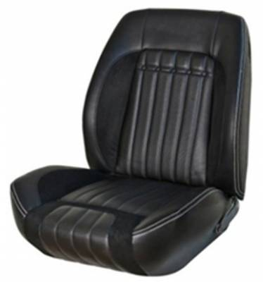 TMI Products - 1970 Camaro Sport R Front Lowback Bucket and Rear Seat Upholstery