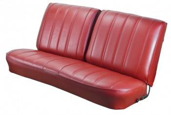 TMI Products - 1966 Chevelle Convertible Front and Rear Bench Seat Upholstery