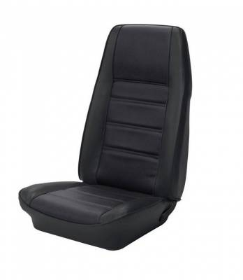TMI Products - Standard Upholstery for 1971-1973 Mustang Convertible w/Bucket Seats Front and Rear