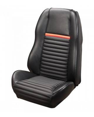 TMI Products - Sport II Seat Upholstery for 1969 -1970 Mustang Mach I & Shelby - Front Only